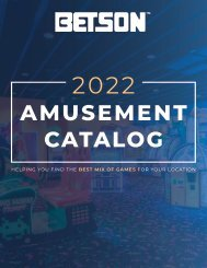 Amusement Catalog April 2021
