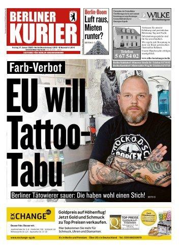 Berliner Kurier 17.01.2020