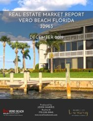 Vero Beach 32963 Market Report December 2019