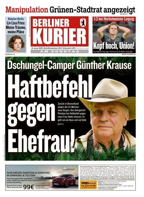 Berliner Kurier 19.01.2020