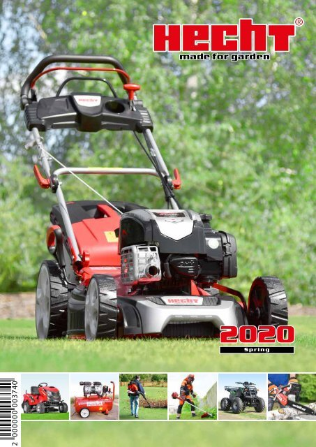 HECHT 5030 PUSHED CYLINDER LAWN MOWERS