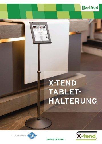 Xtend Tablet Halterung DE