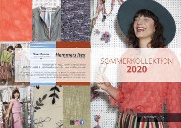 Hemmers Itex_Sommerkollektion2020_Claire_Massieu