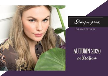 Sempre piú Autumn 2020 catalogue