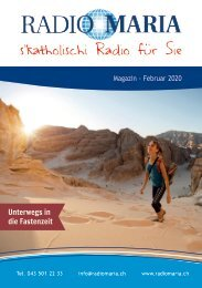 Radio Maria Magazin - Februar 2020