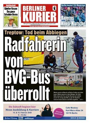 Berliner Kurier 20.01.2020