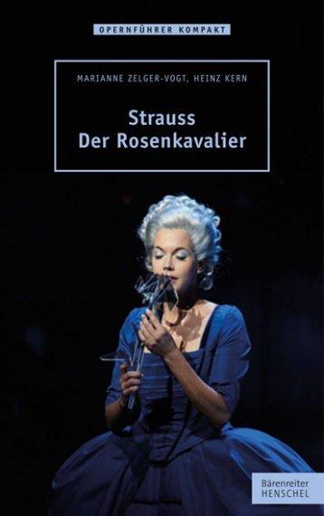 Leseprobe:  Strauss – Der Rosenkavalier