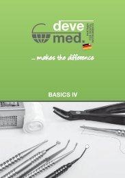 devemed Dental-Instrumente Katalog bedent 2020
