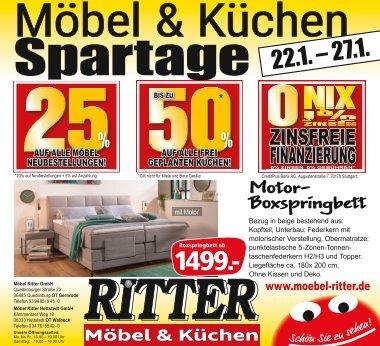 Möbel & Küchen Spartage