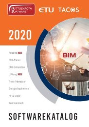 Hottgenroth Software ETU TACOS Gesamtkatalog 2020