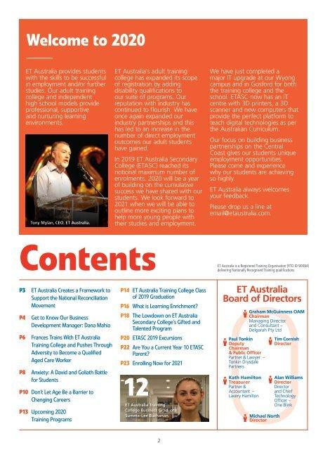 ET Australia Magazine Issue #4 January 2020