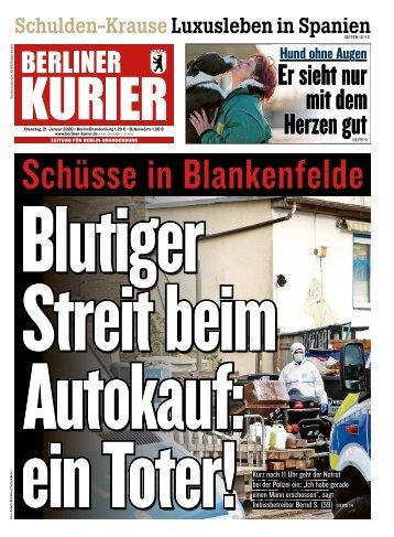 Berliner Kurier 21.01.2020