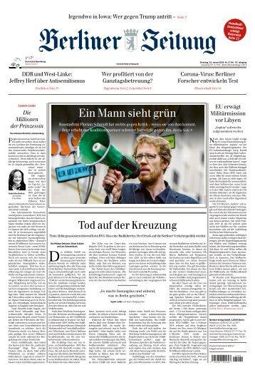 Berliner Zeitung 21.01.2020