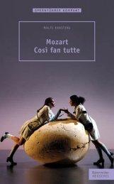 Leseprobe:  Mozart – Cosi fan tutte