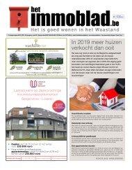 Het Immoblad van 28 januari 2020