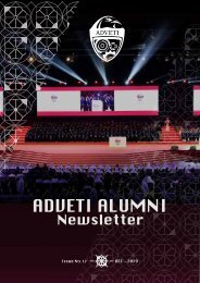 Alumni newsletter - Dec 2019