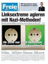 Linksextreme agieren mit Nazi-Methoden!