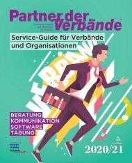 Partner der Verbände - Der Service-Guide für Verbände und Organisationen 2020/21