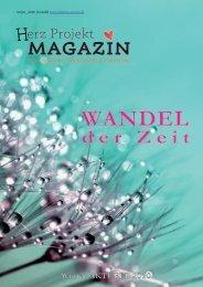 Herz Projekt Magazin Winter 2020 - Wandel der Zeit