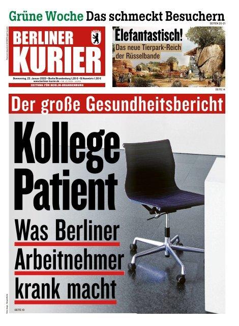 Berliner Kurier 23.01.2020