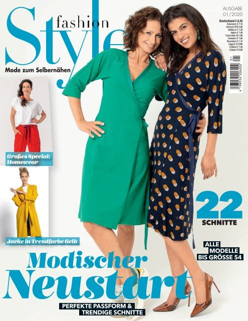 Zeitschrift: Fashion Style Nr. 1/2020