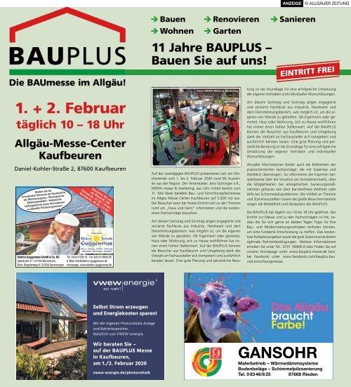BAUplus - Die BAUmesse im Allgäu