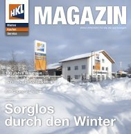 HKL MIETPARK MAGAZIN | Winter 2019/2020