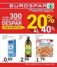 Eurospar S.Gavino 2020-01-16
