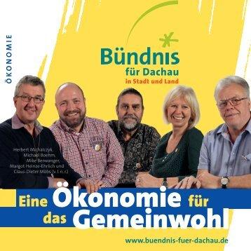 Buendnis-Programm: Oekonomie