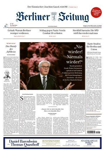 Berliner Zeitung 24.01.2020