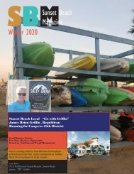 Sunset Beach Magazine Winter 2020