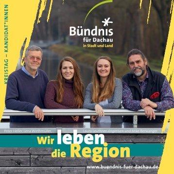 Buendnis-Programm: Kreistagskandidaten und Themen