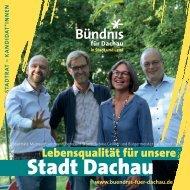 Buendnis-Programm: Stadtratskandidaten und Themen