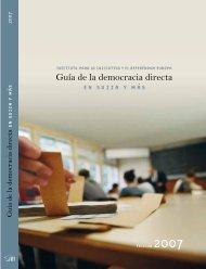 Guía de la democracia directa – en suiza y más allá