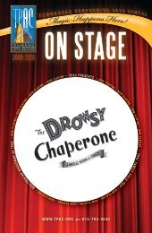 The Drowsy Chaperone - Tennessee Performing Arts Center