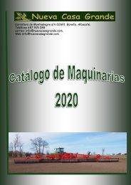 Catalogo-Maquinaria-Agricola-Nueva Casa Grande-2020