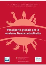 Global Passport to Modern Direct Democracy, Italian edition