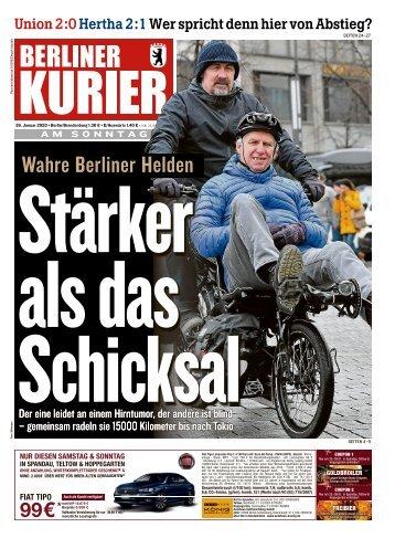 Berliner Kurier 26.01.2020