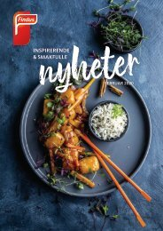 Nyheter Findus Foodservices 2020