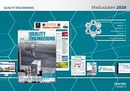 QUALITY ENGINEERING Mediadaten 2020 Deutsch