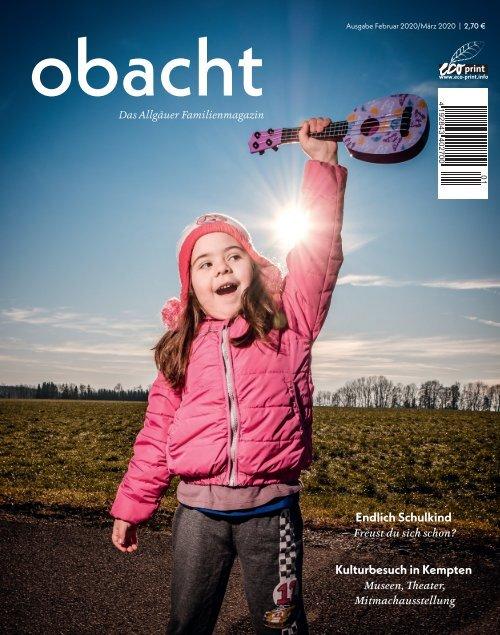 obacht Familienmagazin Februar/März 2020