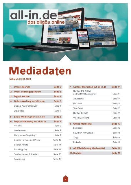 all-in.de Mediadaten
