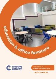 Creative Activity 2020 Classroom & Office Furniture Catalogue