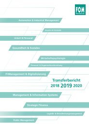 FOM Transferbericht 2019