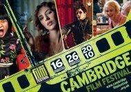Cambridge Film Festival 2010 Brochure