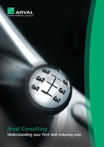 A unique market leading model that will move your fleet ... - Arval