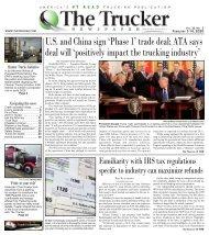 The Trucker Newspaper - February 1-14, 2020