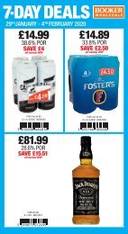 7 Day Deals - England & Wales
