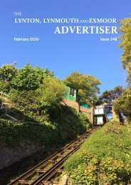Lynton, Lynmouth and Exmoor Advertiser, February 2020