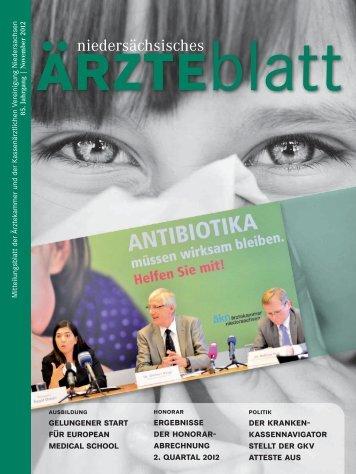 November 2012 - Hannoversche Ärzte-Verlags-Union